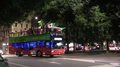 Europei, Italia campione: Milano impazzisce per i festeggiamenti