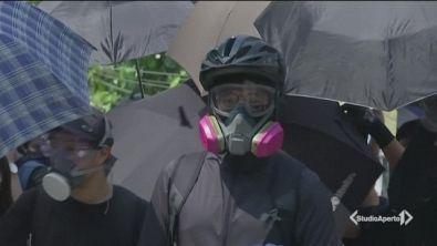 Hong Kong vieta le maschere