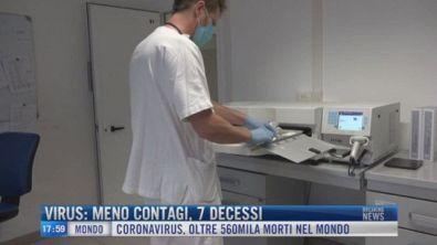 Breaking News delle 18.00 | Virus: meno contagi, 7 decessi