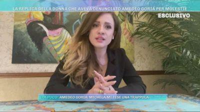 La replica della donna che aveva denunciato Amedeo Goria per molestie