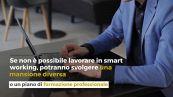 Covid, proroga per i lavoratori fragili in smart working