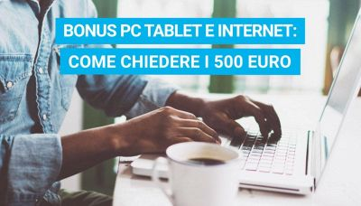 Come chiedere il Bonus PC e Internet