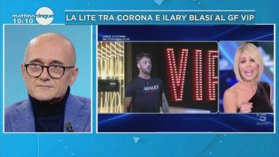 Lite Corona-Blasi: parla Signorini