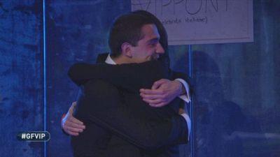 Francesco Oppini rientra nella Casa e incontra Tommaso Zorzi