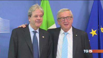 Juncker: sui migranti Italia conti sulla Ue