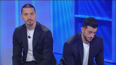 Zlatan Ibrahimovic il regalo per Francesco