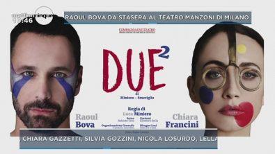 """""""Due"""", da stasera al teatro Manzoni"""