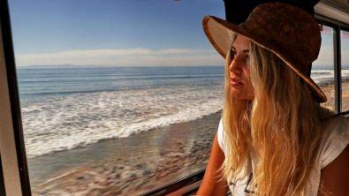 La California in treno, a bordo del Coast Starlight