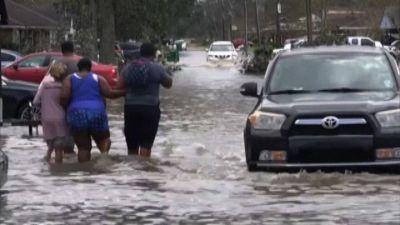 In Louisiana danni e allagamenti dopo l'uragano Ida: 2 morti