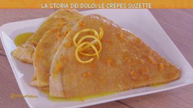 La storia dei dolci: le Crepes Suzette