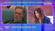 """GFVIP - Emanuela Tittocchia: """"Fabio Testi appena vede una ragazza ci prova..."""""""