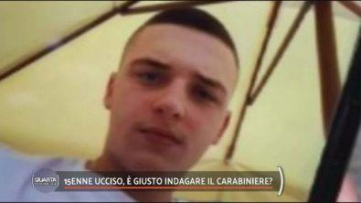 15enne ucciso, è giusto indagare il carabiniere?