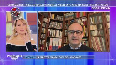 Coronavirus, parla Antonello Giannelli presidente associazione presidi italiani