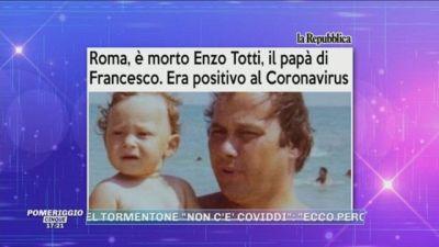 Lutto per Francesco Totti