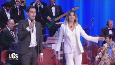Alba Parietti e Tommaso Zorzi Show