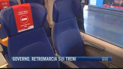 Breaking News delle 21.30 | Governo retromarcia sui treni