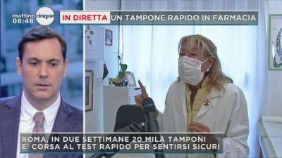 Da una farmacia di Roma