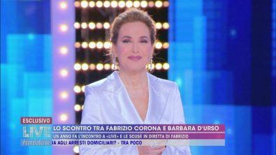 Lo scontro tra Fabrizio Corona e Barbara D'Urso