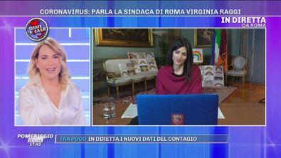 Coronavirus: parla la sindaca di Roma Virginia Raggi