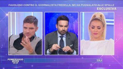Luigi Favoloso contro il giornalista Fredella: ''Eri mio amico...''