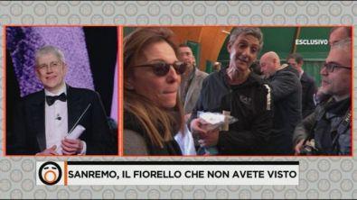 Sanremo, il Fiorello che non avete visto