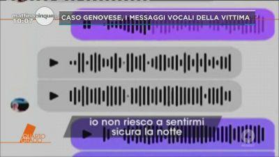 Caso Genovese: i vocali della vittima