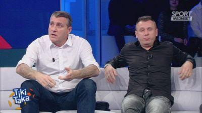 """Cassano-Vieri show: """"Tu non ti allenavi, io sì"""""""