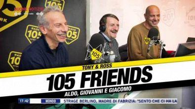 Aldo, Giovanni e Giacomo ai microfoni di Radio 105