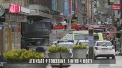 Attentato a Stoccolma, almeno 4 morti