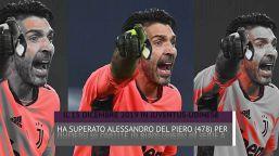 Gigi Buffon, i record non hanno età