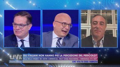 Gli italiani non hanno più la percezione del pericolo?