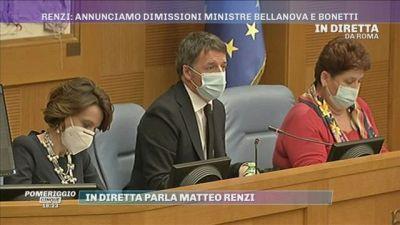 Matteo Renzi: ''Non consentiremo a nessuno di avere pieni poteri''