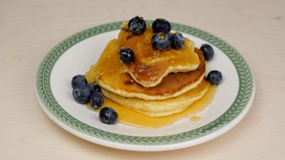 Ricetta per pancake al mirtillo