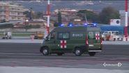 In Italia i militari feriti