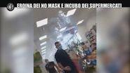 """Eroina dei no mask e incubo dei supermercati: """"La mascherina? Simbolo di sottomissione"""""""