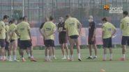Messi fa gol in allenamento