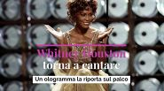Whitney Houston torna a cantare