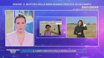 La scomparsa di Denise Pipitone: il mistero della bara bianca trovata in un campo