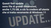 Il finto aggiornamento a Windows 11 contiene un virus