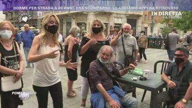 Torino, Benito dorme per strada a 80 anni
