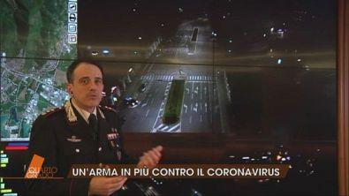 Covid-19: Sala di controllo dell'Arma dei Carabinieri