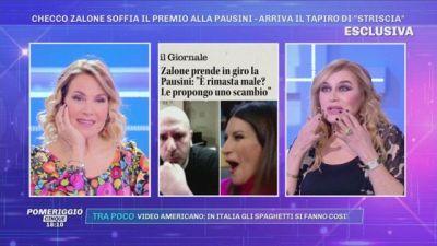 Checco Zalone soffia il premio alla Pausini