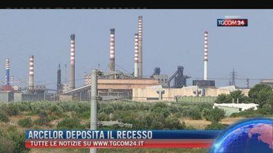 """Breaking News delle ore 16.00: """"Arcelor deposita il recesso"""""""