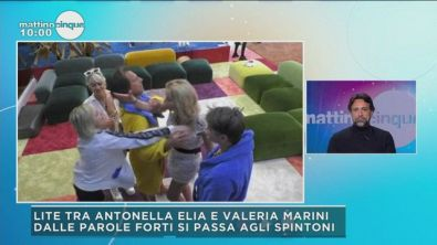 GFVIP: Il litigio tra Valeria Marini e Antonella Elia
