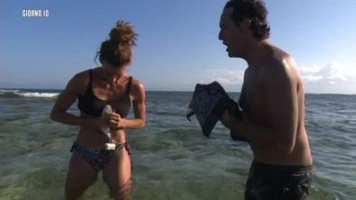 La prima pesca di Giulia