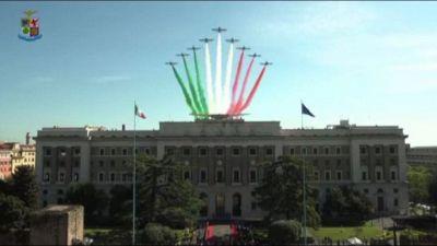 L'Aeronautica militare ha celebrato a Roma il 98° anniversario