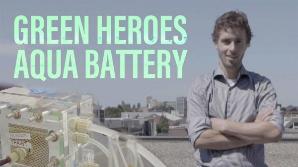 Green Heroes: episodio 4 - Batterie all'acqua