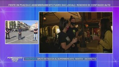 Padova e Napoli: piazze e lungomare prese d'assalto