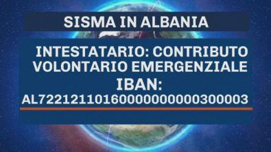Aiuto alla popolazione albanese colpita dal sisma