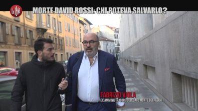 MONTELEONE: Morte David Rossi: la testimone mai sentita